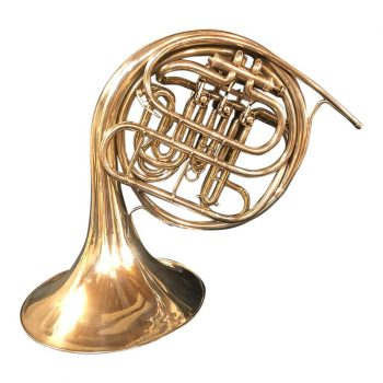 HN White Schmidt Model Double Horn